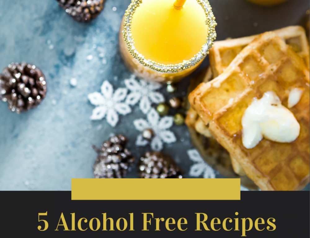 Finding Holiday Cheer Without The Spirits – Alcohol Free Drinks to Get You Through The Holidays