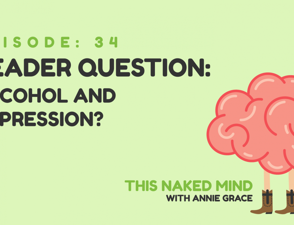EP 34: Reader Question – Depression and Alcohol?
