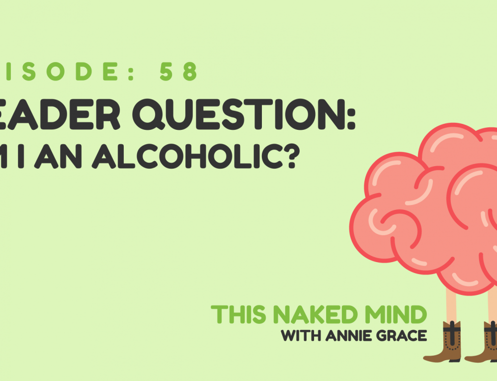 EP 58: Reader Question – Am I an alcoholic?