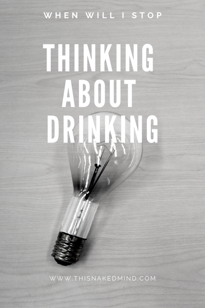 thinking about drinking