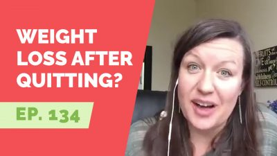 losing weight after quitting drinking