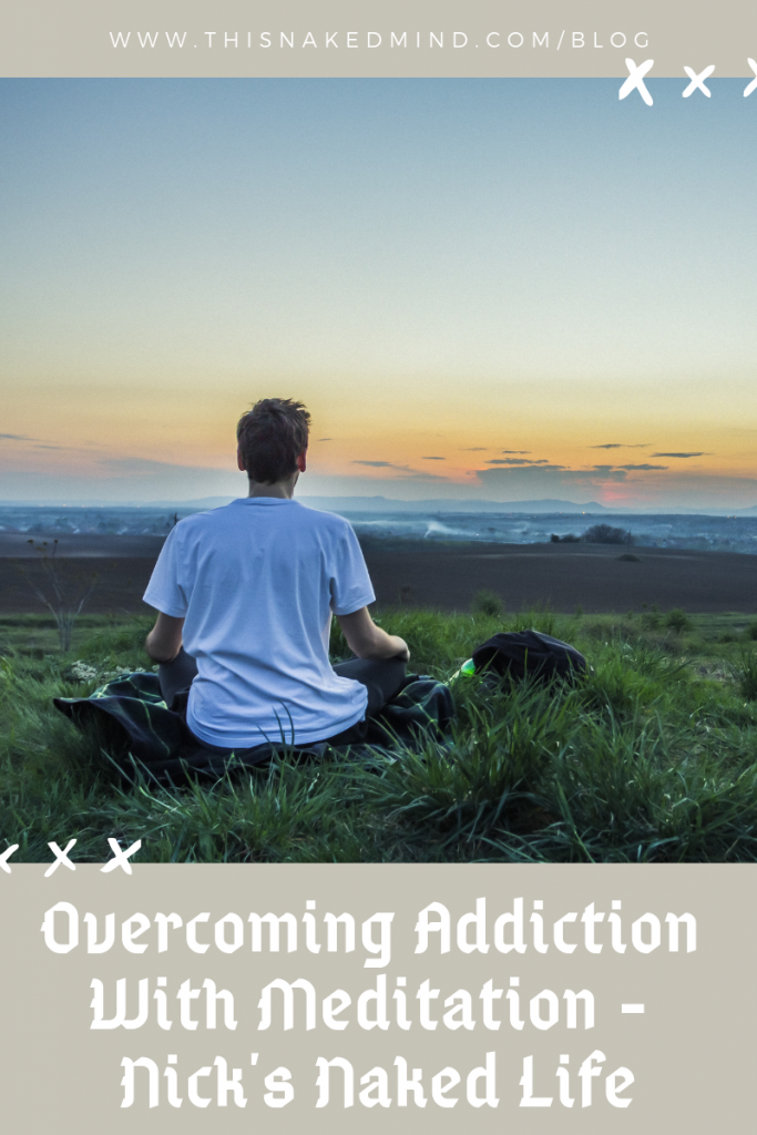 overcoming addiction with meditation