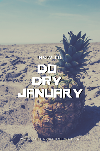 how to do dry january