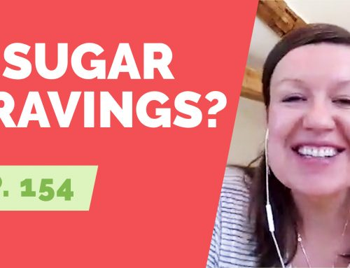 EP  154:  Reader Question – Why am I having sugar cravings during a break from alcohol? Annie Grace answers.