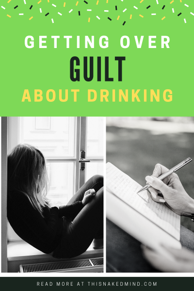 guilt about drinking