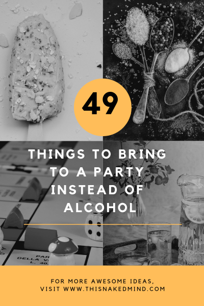 Things To Bring To A Party Instead Of Alcohol