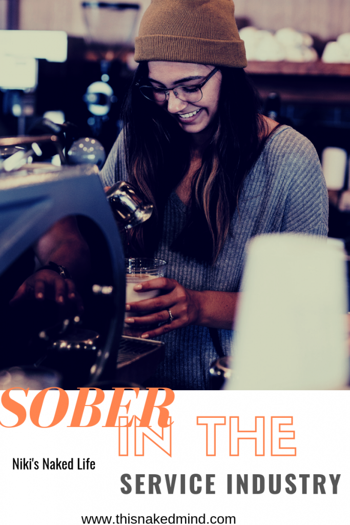 sober in the service industry