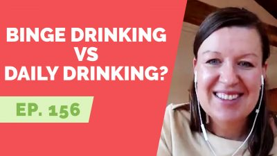 binge drinking or daily drinking