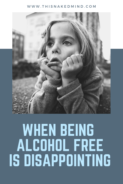 being alcohol free is disappointing