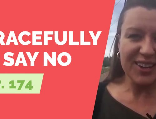 EP 174:  Reader Question – How do I gracefully say no to alcohol?