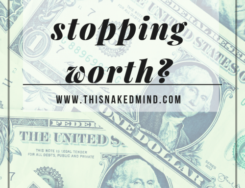 What Is Stopping Worth?