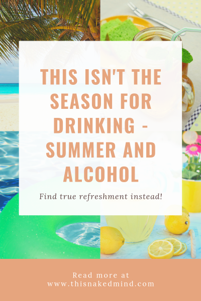 summer and alcohol