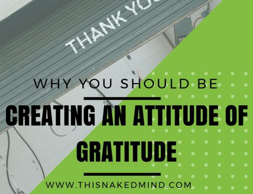 Why You Should Be Creating An Attitude of Gratitude