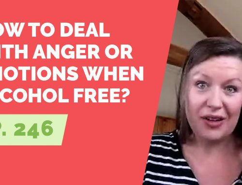 EP 246: Reader Question – How do you deal with anger or emotions when alcohol free?