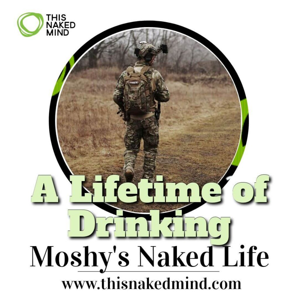 a lifetime of drinking