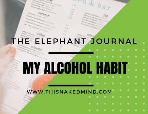 My Alcohol Habit