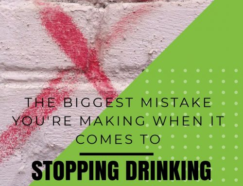 The Biggest Mistake You're Making When It Comes To Stopping Drinking