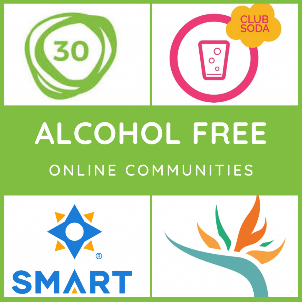 alcohol free online communities