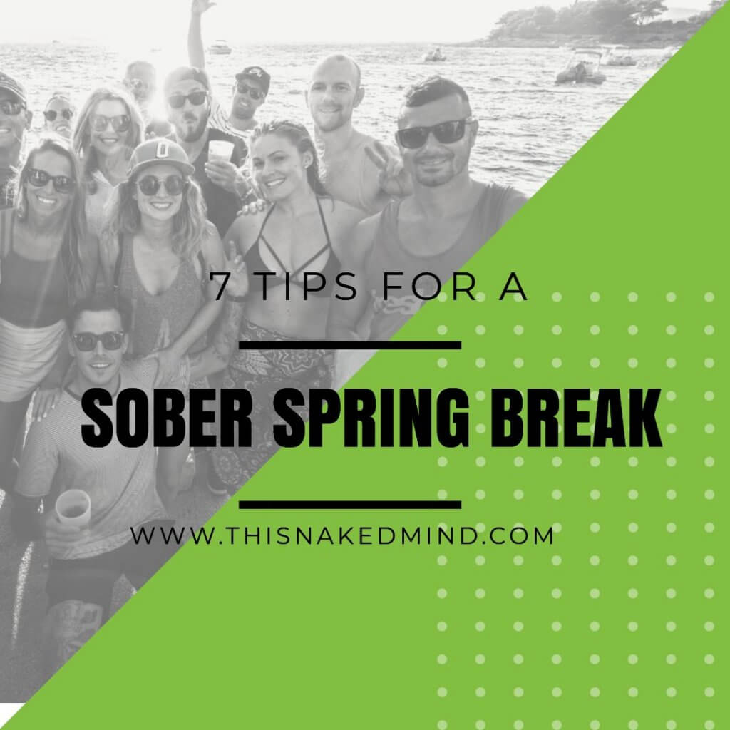 sober spring break